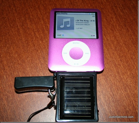 Solar Powered Iphone Or Ipod Charger Dragon Blogger Technology