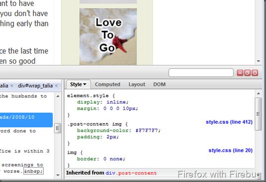 FireBug with Firefox