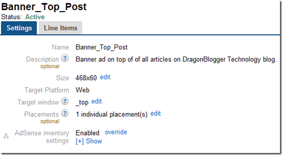 Experimenting With Google Doubleclick For Publishers Dragon