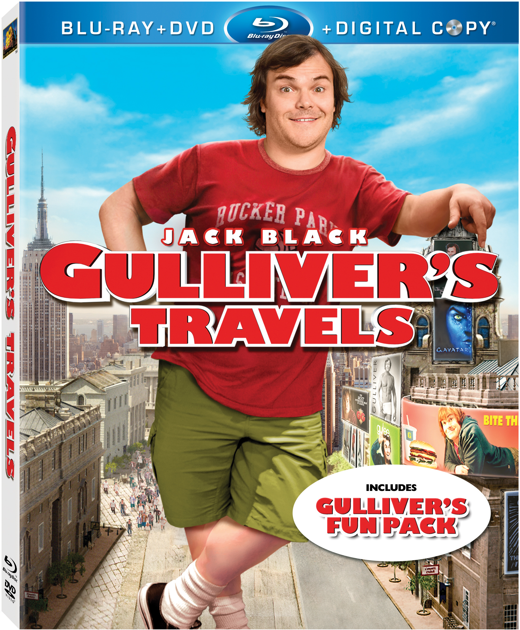 Jack Black in 'Gulliver's Travels'