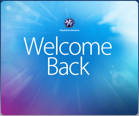 Sony's Welcome Back Package