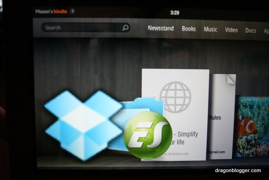 Install Dropbox on Kindle Fire - Dragon Blogger Technology