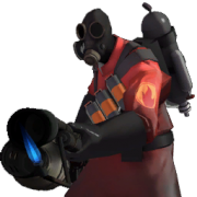 The ruthless Pyro of TF2