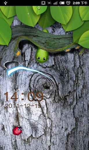 GO Locker 3D Worm Theme-Best Go Locker themes