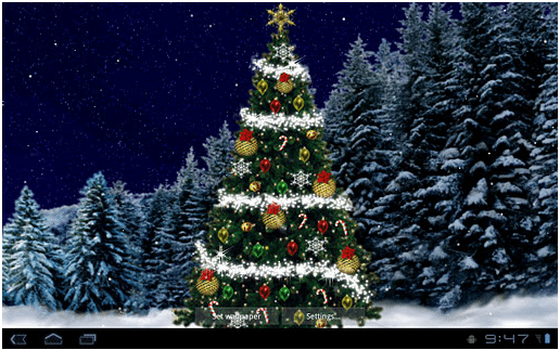 Free Christmas Live Wallpapers For Your Android