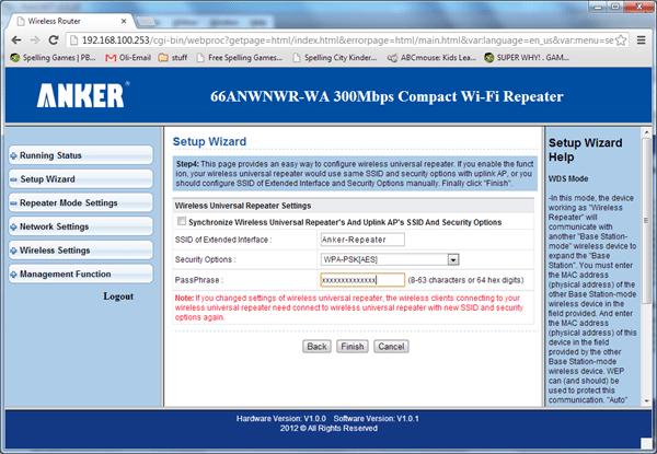 anker repeater menu 2