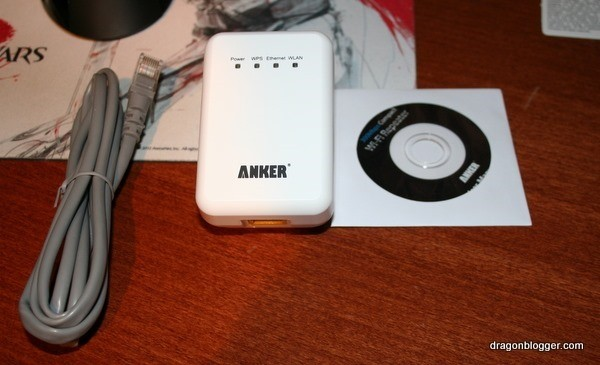 anker wi-fi repeater setup