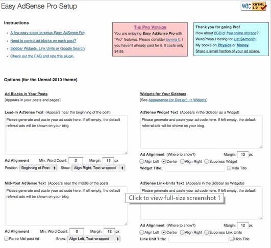 Best Free WordPress AdSense Plugins - Dragon Blogger Technology