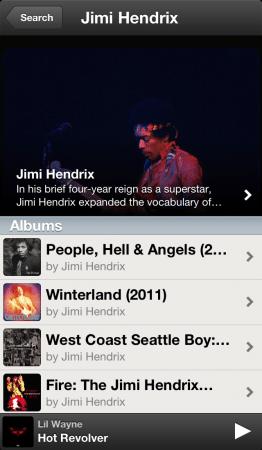 Jimi Hendrix Spotify