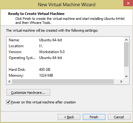 Setting up Ubuntu on VMWare Player in Windows 8 - Dragon Blogger