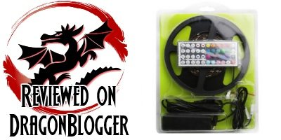 Review Lighting Ever Flexible Color-Changing LED Strips - Dragon Blogger Technology  sc 1 st  Dragon Blogger & Review: Lighting Ever Flexible Color-Changing LED Strips - Dragon ...