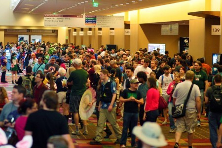 Massive crowd at Gen Con 2013
