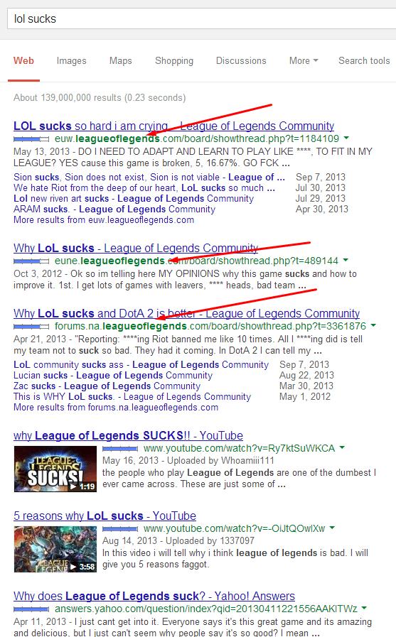 lol sucks
