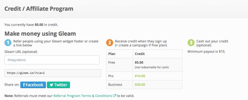 Gleam Giveaway Platform Now Has Referral Program - Dragon Blogger