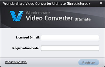 wondershare ultimate registration code