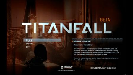 Titan Fall Beta