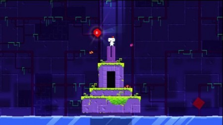 One of the game's many challenging puzzles.