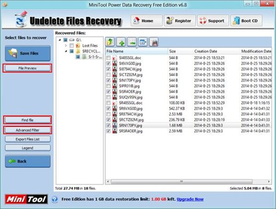 How to Recover Deleted Data with MiniTool Power Data
