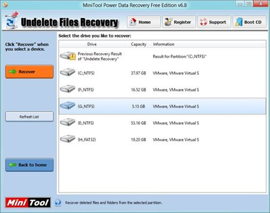 download minitool power data recovery free edition v6.8