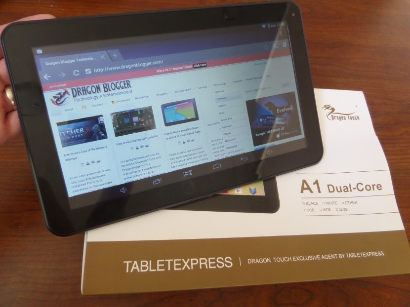 """Dragon Touch A1 Dual Core 10.1"""" Tablet"""
