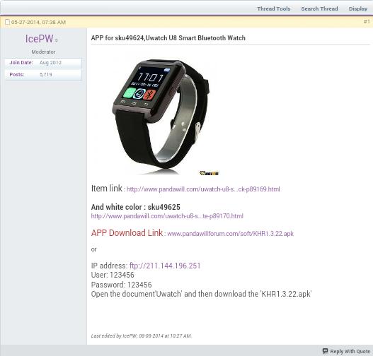 U Watch U8 SmartWatch Review - Dragon Blogger Technology