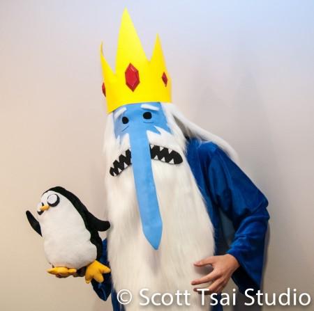 Adventure Time Ice King and Gunter Cosplay Bryan Ng Scott Tsai Studio AniRevo Winter 2015