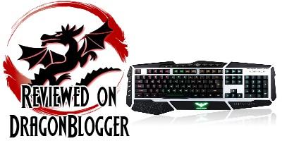 HAVIT® Lammergeier HV-KB346L LED Definable RGB Keyboard