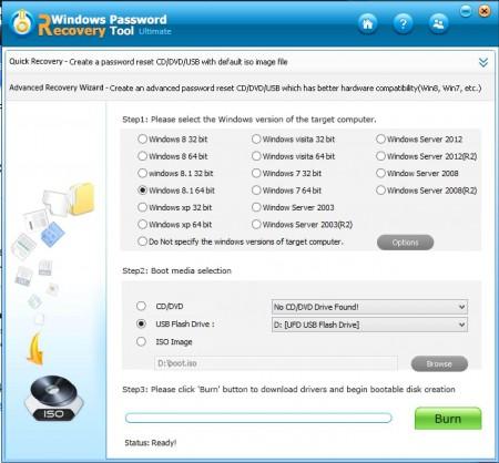 windows 7 ultimate password recovery tool