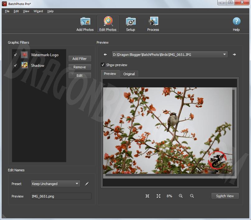 BatchPhoto Batch Photo Editing Software