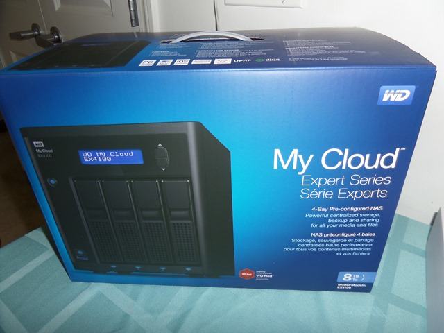 First Impression on the WD MyCloud EX4100 - Dragon Blogger