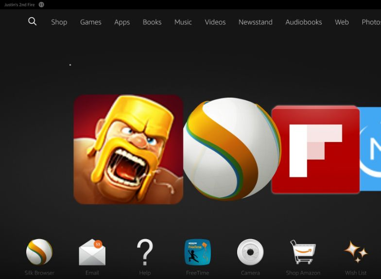 How to Install Clash of Clans on Kindle Fire HD, HDX - Dragon
