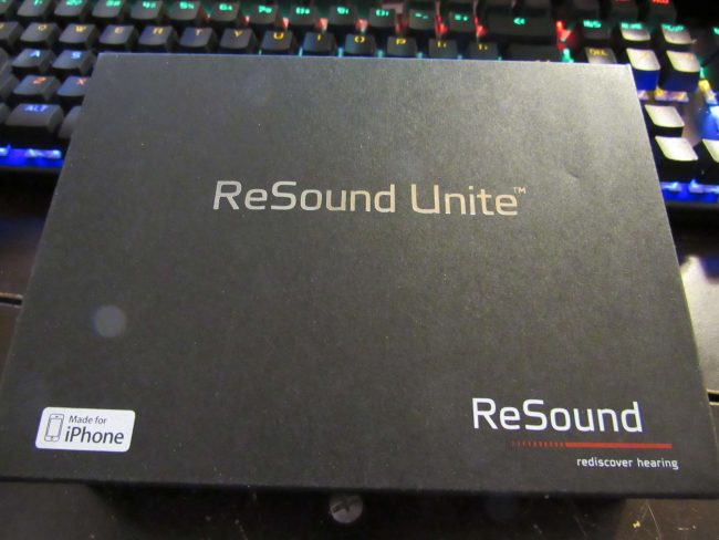 Resound Hearing Aid and Resound Unite Phone Clip Review
