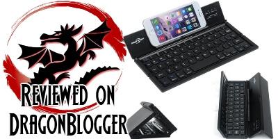 BATTOP Foldable Portable Bluetooth Keyboard