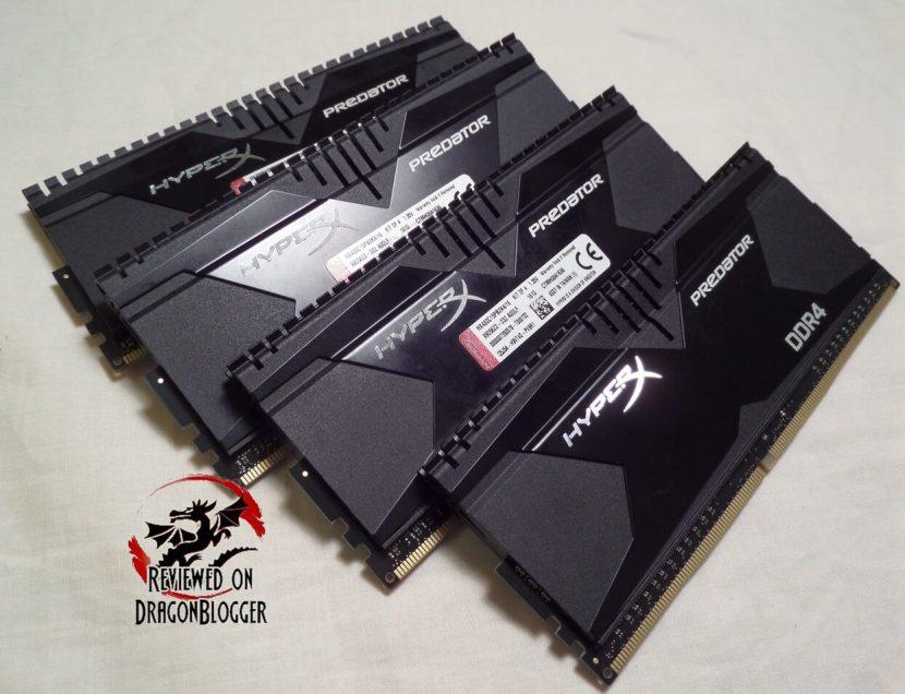 HyperX Predator Quad Channel DDR4 RAM 16Gig Kit Review - Page 5 of 6 -  Dragon Blogger Technology