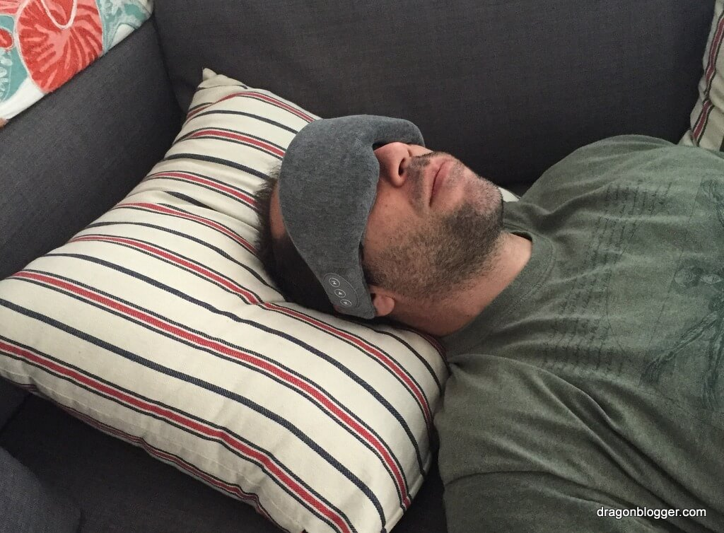 c4c8ccfa906 I didn't know I needed a Bluetooth Eye Mask until I got this product to  review, it seriously makes taking afternoon naps on weekends a breeze and  is so much ...