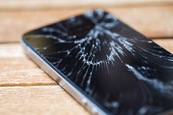 The Shattered iPhone.