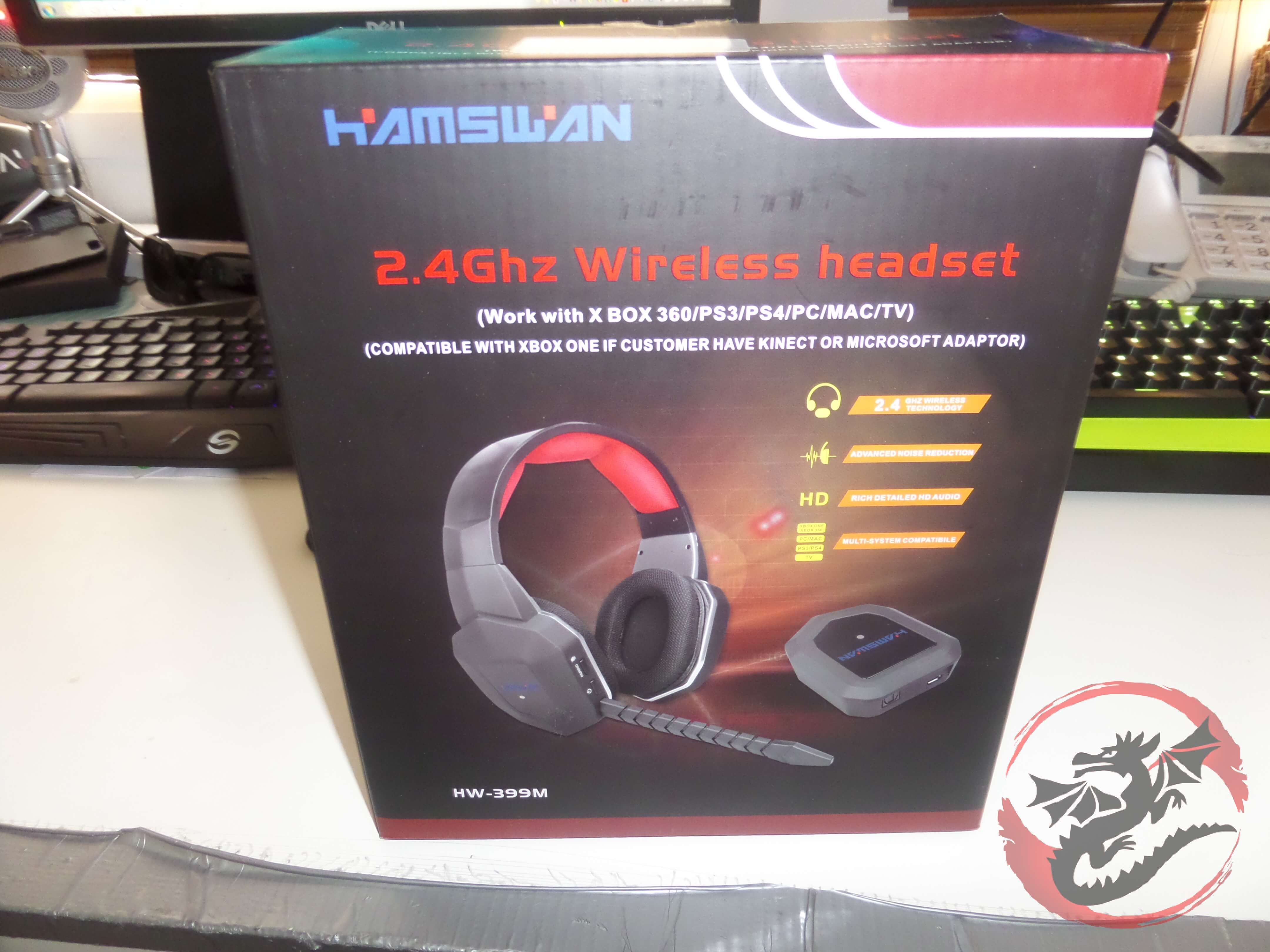 HAMSWAN 2 4GHz Wireless Gaming Headset Review – PS4 Headsets
