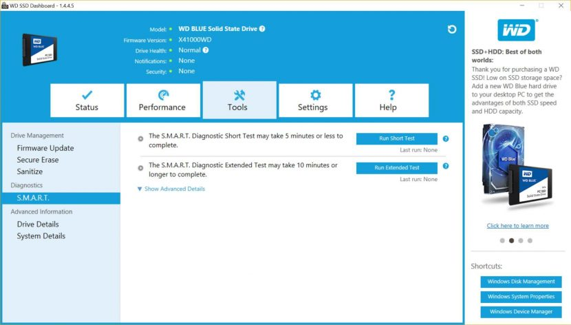 Western Digital's WD Blue 500GB WDS500G1B0A SSD Review