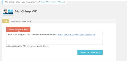 mailchimp wd api key