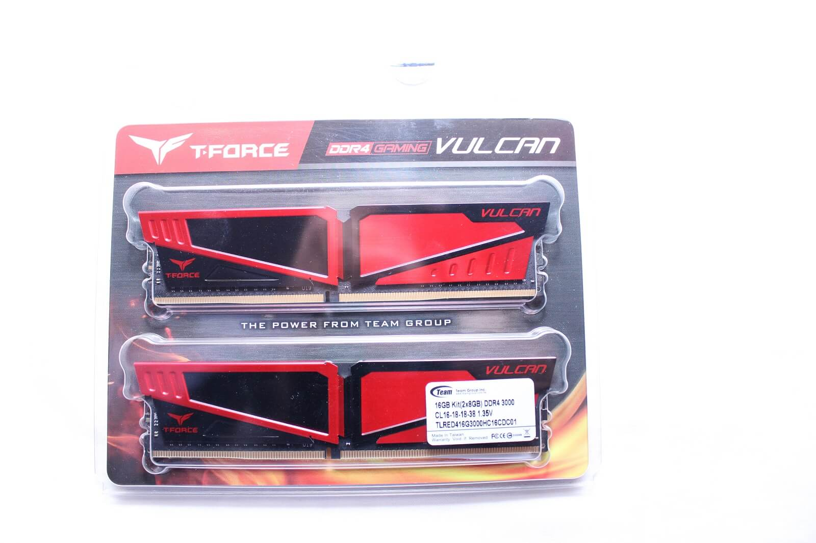 TeamGroup T-Force Vulcan DDR4 3000MHz CL16 RAM Review