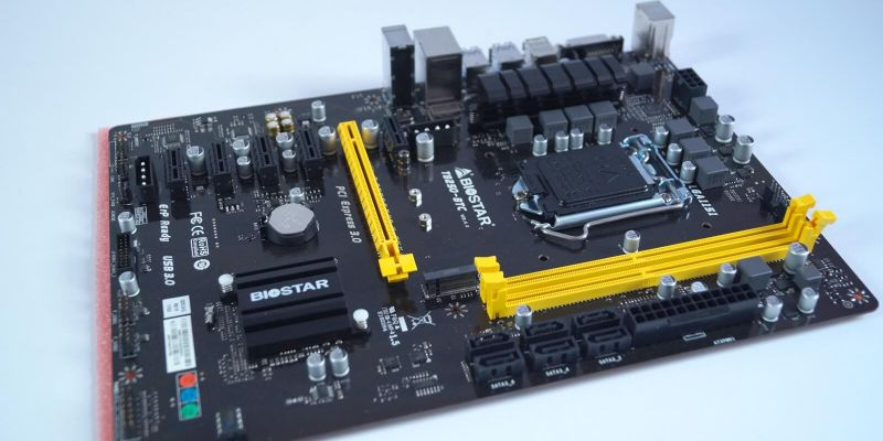BIOSTAR TB250-BTC Motherboard Review - Best Mining Board of