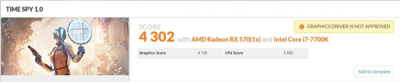 Sapphire Radeon PULSE RX 570 ITX 4GB 11266-06-20G Video Card