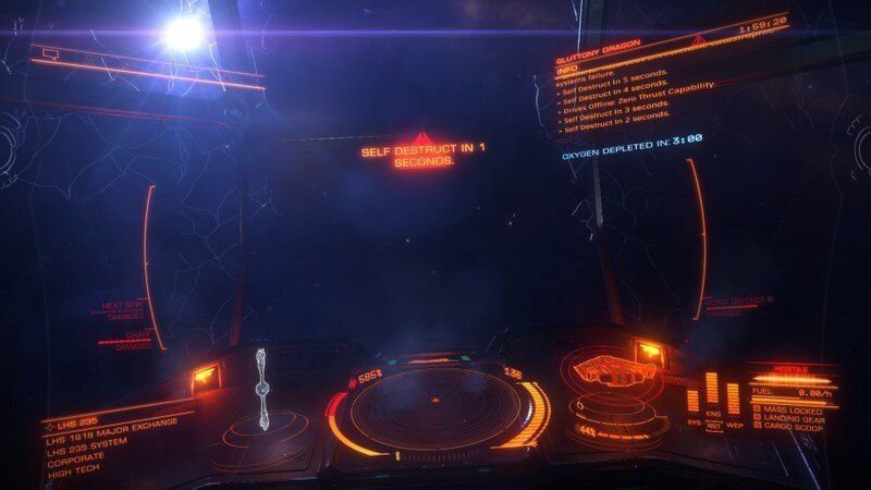 Tales from Elite Dangerous and My Experience with a Type-9 - Dragon