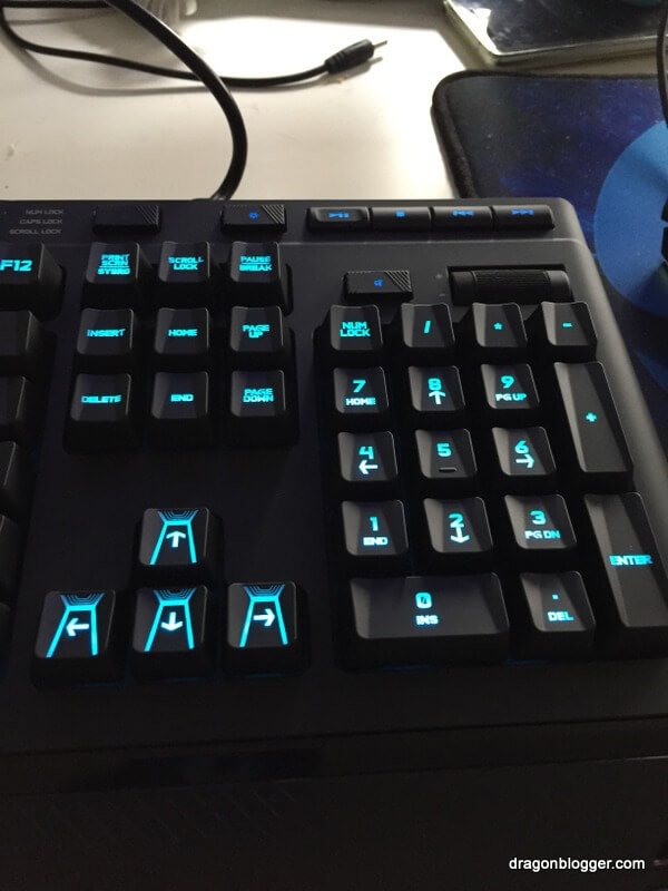 Logitech G910 Orion Spark Mechanical Gaming Keyboard Review - Dragon