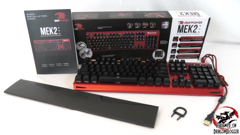 iBUYPOWER MEK 2 Pro RGB Mechanical Keyboard Review - Up