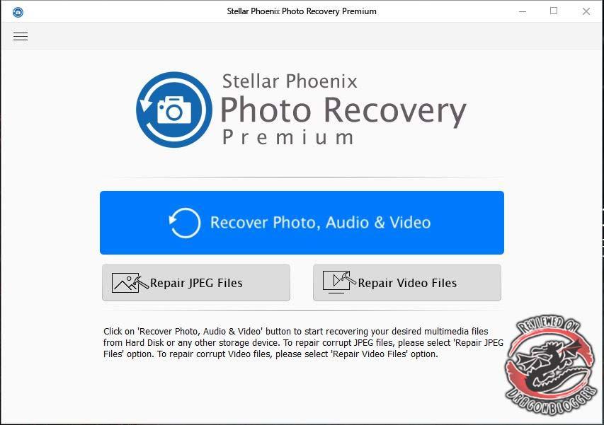 Stellar Phoenix Photo Recovery Premium