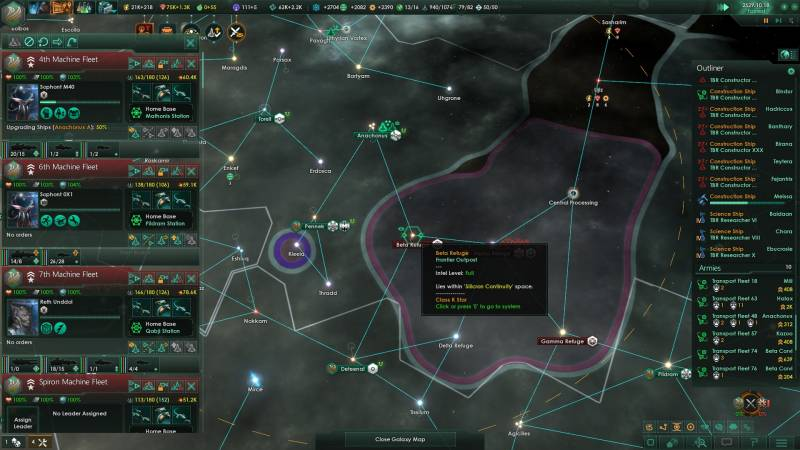 Which is Better Stellaris or Endless Space 2 - Dragon