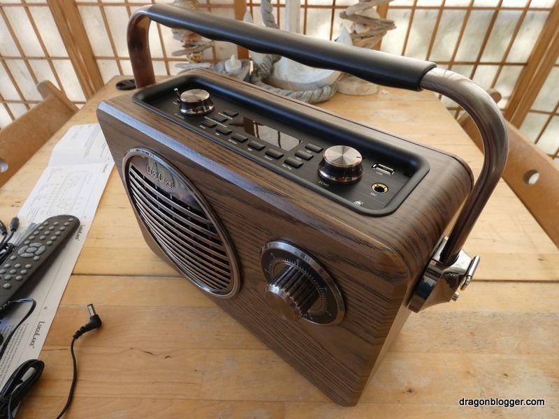 Lugulake Vintage Looking Bluetooth Speaker Review - Dragon Blogger  Technology