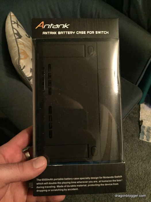 low priced 1f9df f870b Antank Portable Switch Backup Battery Case - Dragon Blogger Technology