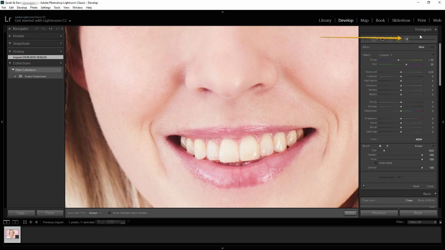 Lightroom Whiten Teeth Tutorial Dragon Blogger Technology
